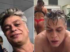 Fábio Assunção Caiu na net com várias putas no motel chupando elas