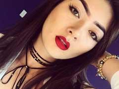 Ana Otani Peladona Youtuber se exibindo nua em Video Proibidão